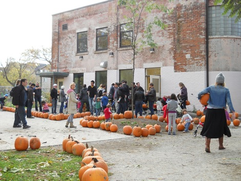 Annual Sorauren Pumpkin Sale