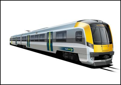 Wellington, NZ (population 395,000) ordered these electric train units in 2010... maybe Toronto could have electric trains too.