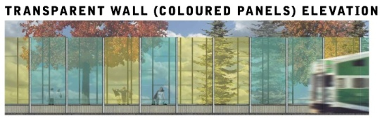 Translucent noise walls proposed for Sorauren Park
