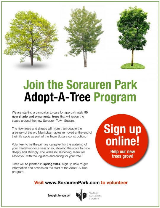 Adopt A Tree poster