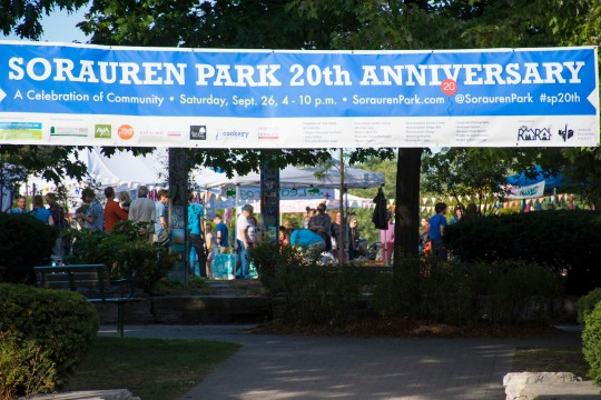 Sorauren Park 20th Anniversary, Sept. 26, 2015