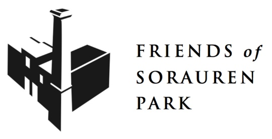 Logo for Friends of Sorauren Park - horizontal