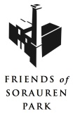 Logo for Friends of Sorauren Park - vertical