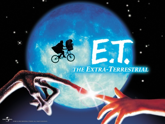 Movie poster for E.T. The Extra-terrestrial
