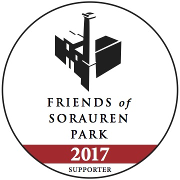 Friends of Sorauren Park 2017 Supporter decal