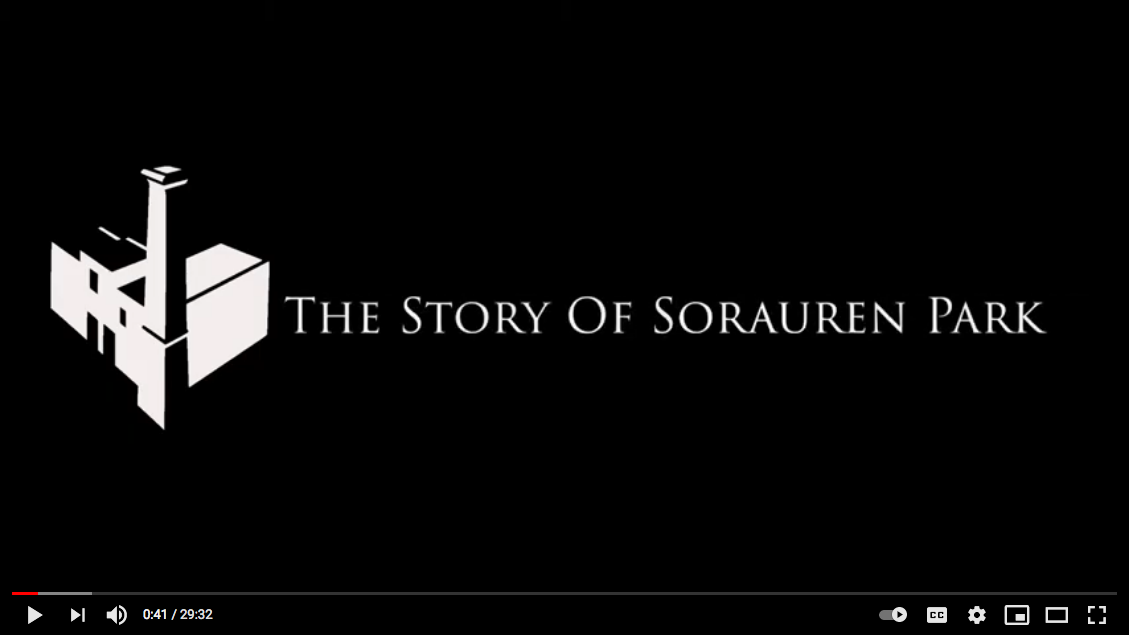 Title credit for The Story of Sorauren Park